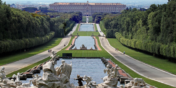 VISIT OF CASERTA ROYAL PALACE