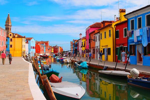 Burano in the North Lagoon, Torcello