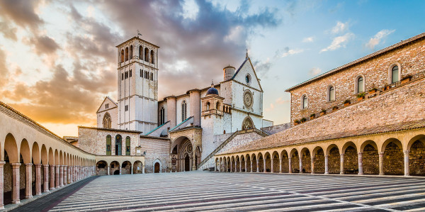 Guided tour of Assisi