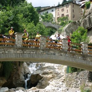 Cycling or Trekking experience along the