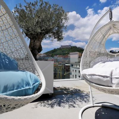 Central Hotel 4* in Naples - Panoramic terrace