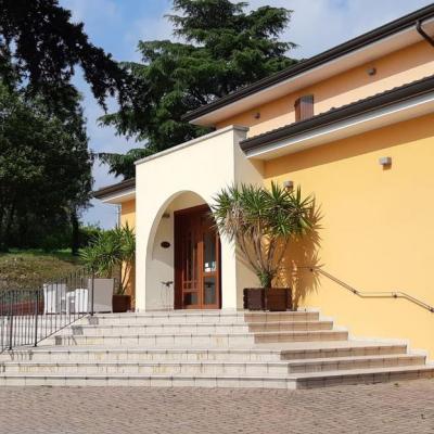Facciata esterna Villa del Poeta