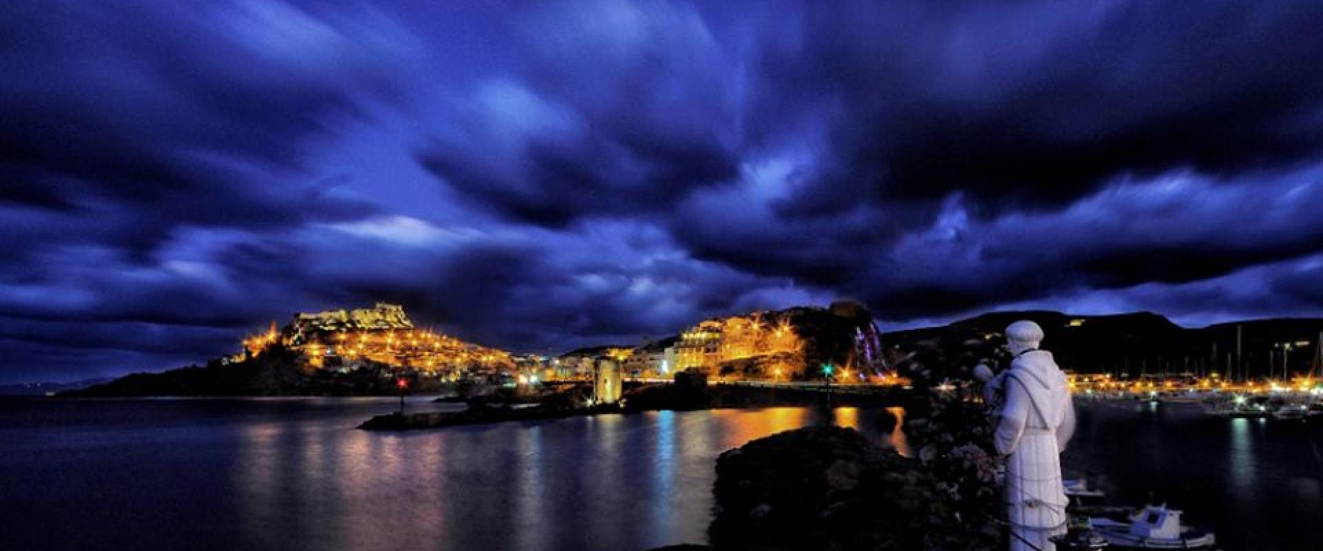 Nocturnal tour of Castelsardo