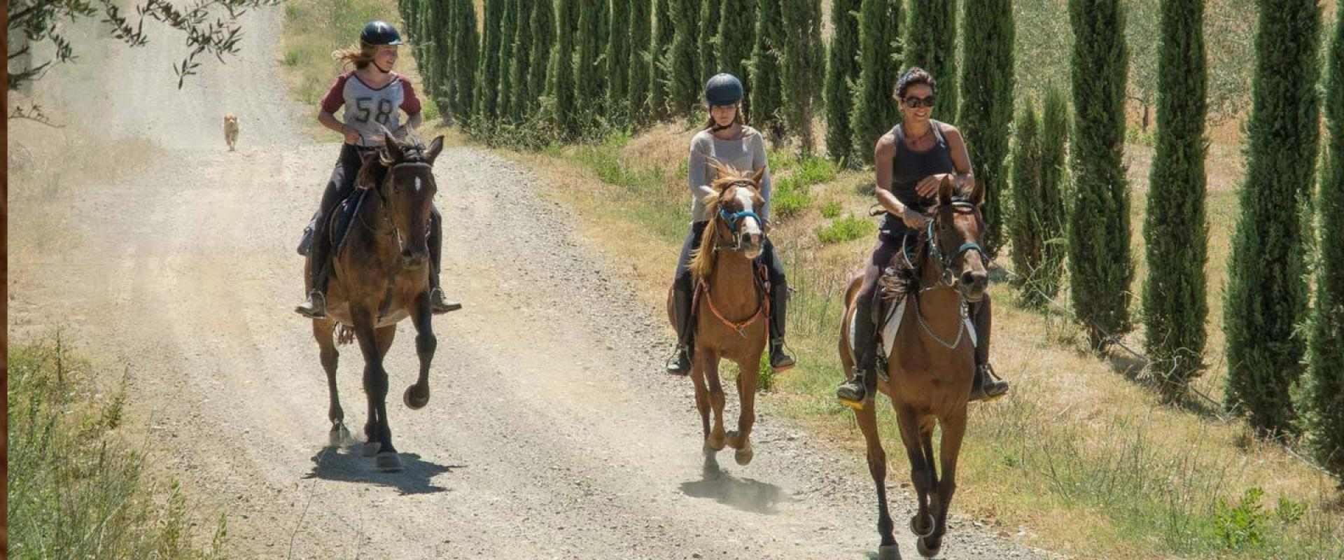 horse riding in Maremma