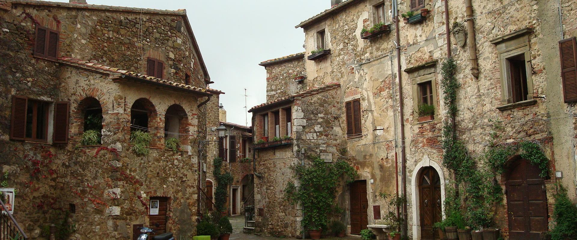 Visit of Montemerano Tuscany
