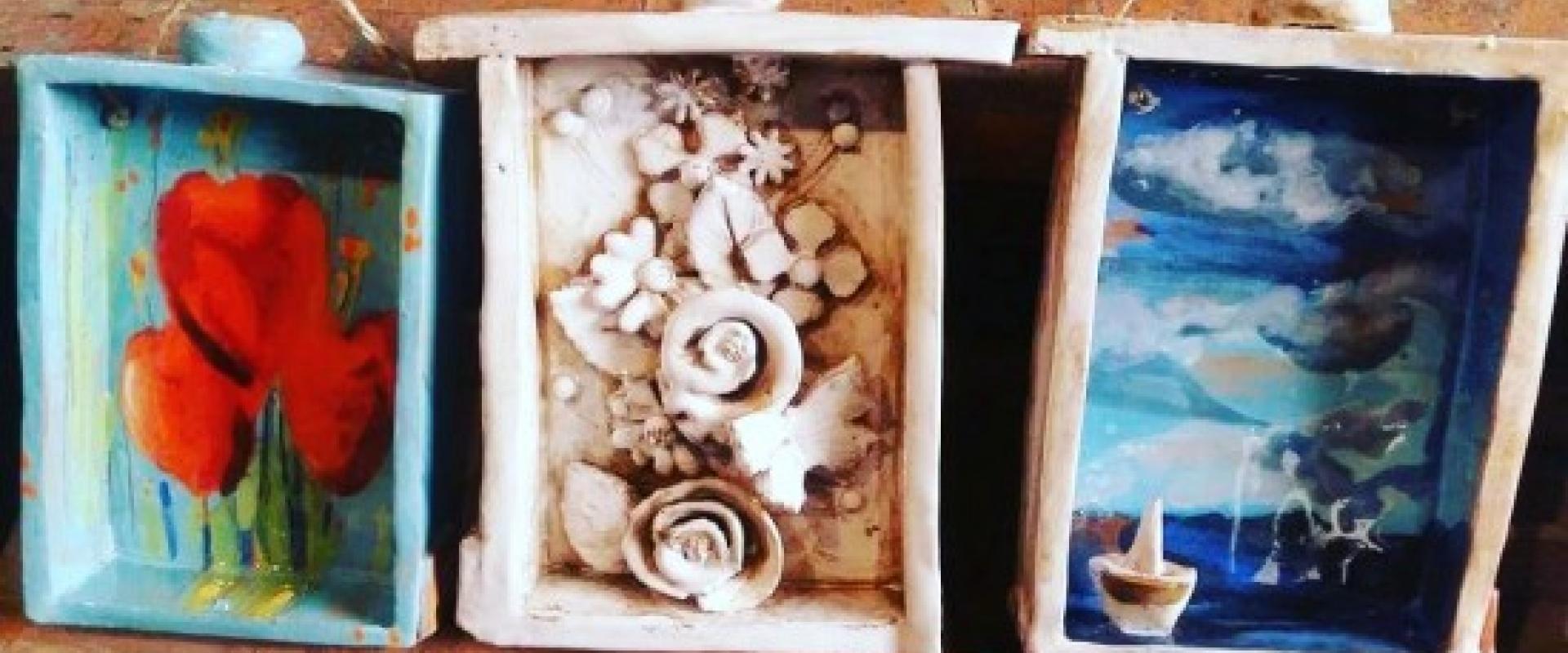 Ceramist craft shop Tuscany