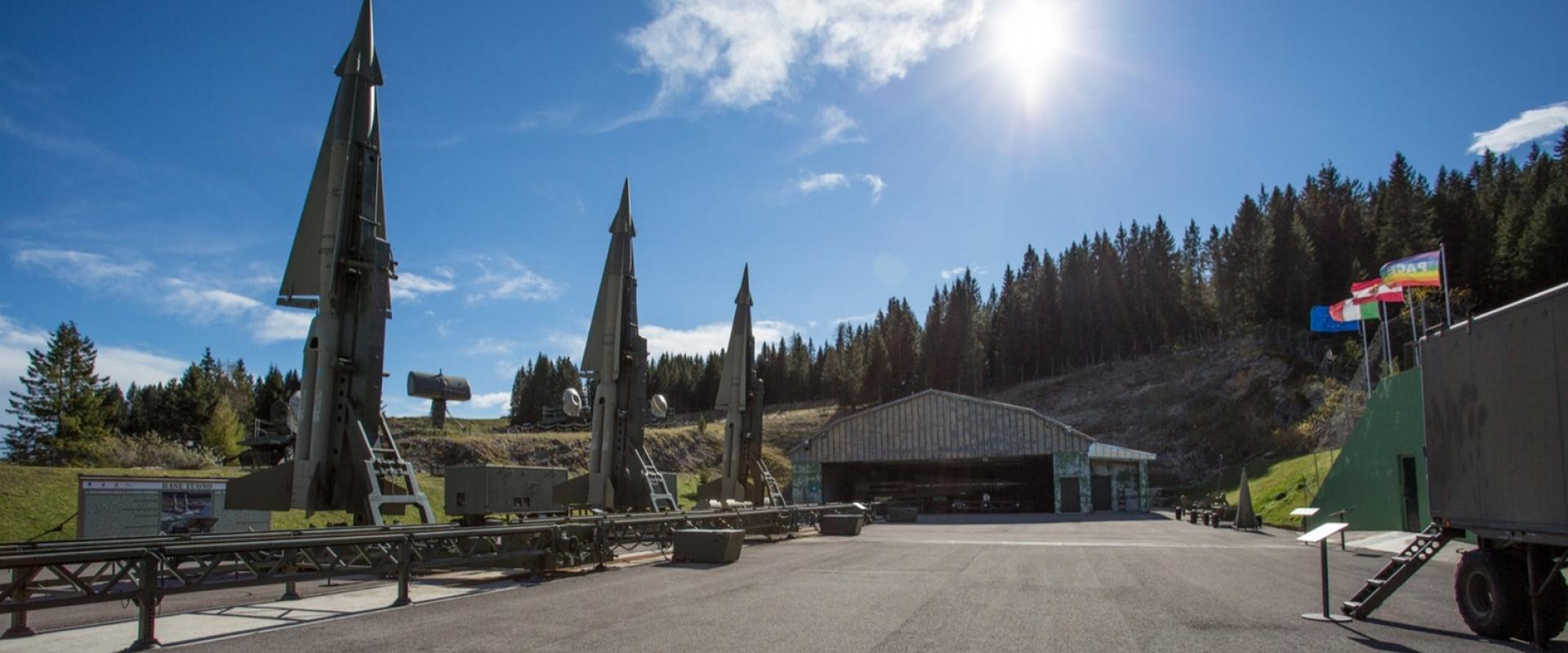 Visit of Base Tuono