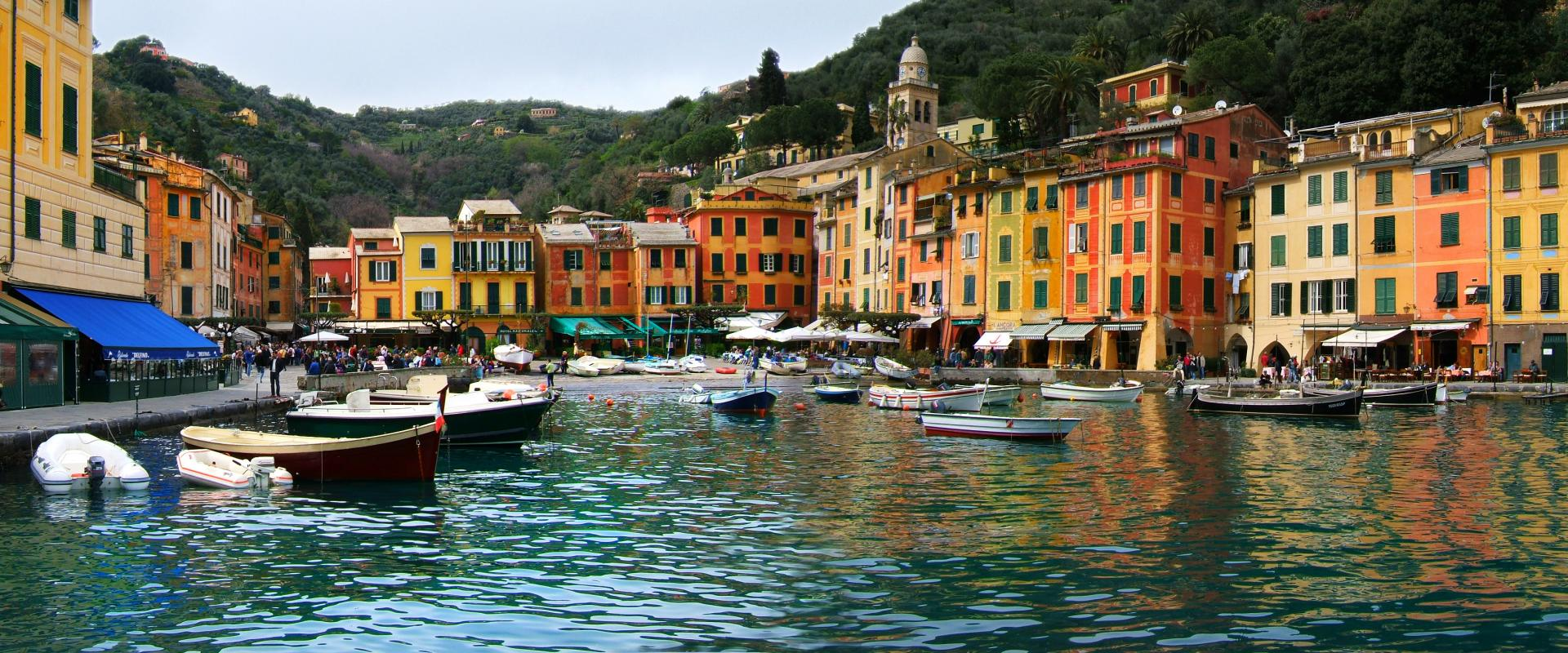 Guided tour of Portofino, cooking exhibition and tasting lunch
