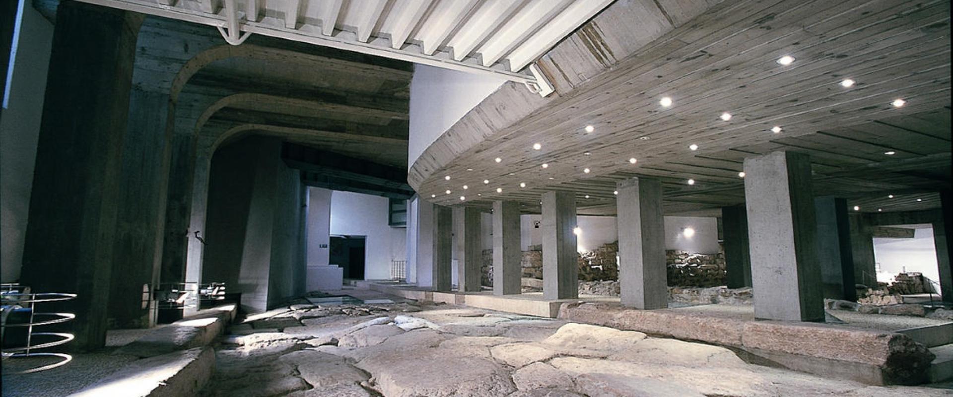 visit of the underground Tridentum