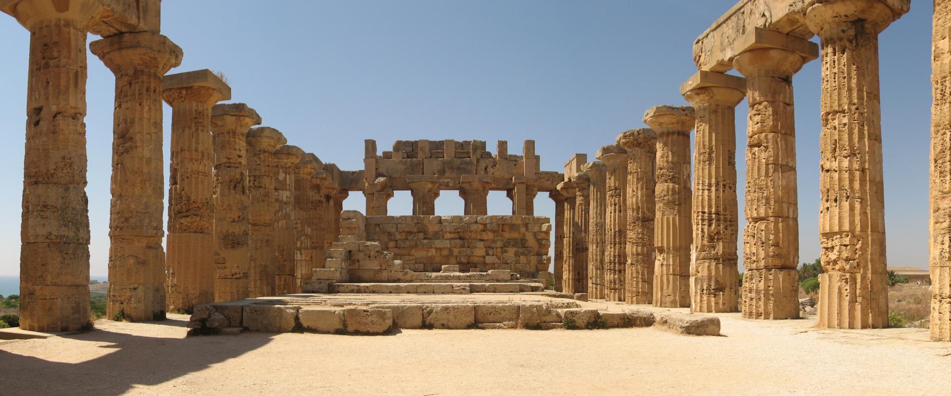 Visit of Selinunte