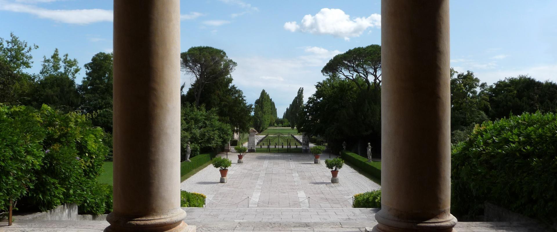 Villa Emo loggia