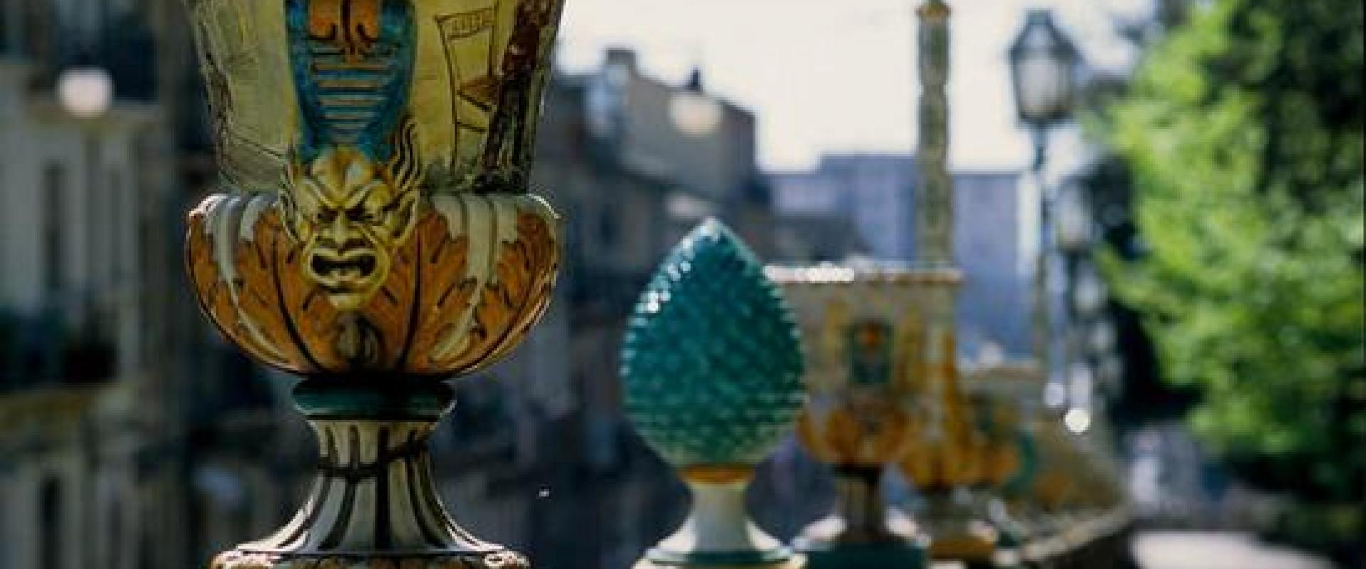 Visit of Caltagirone