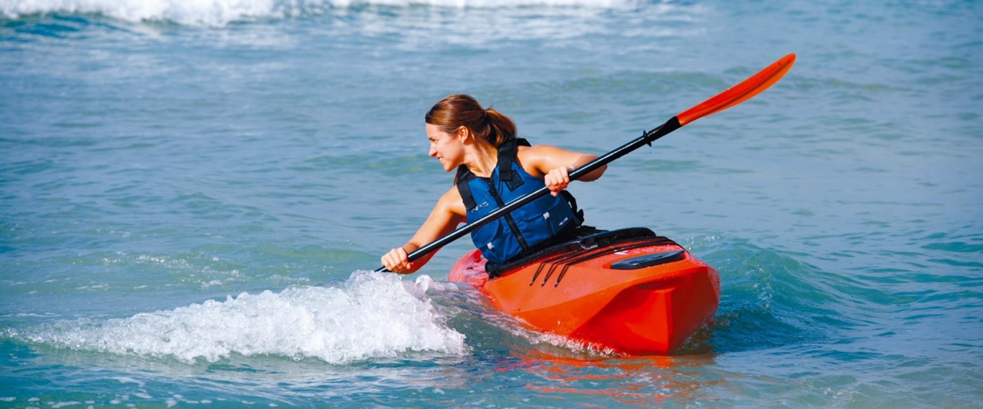 Kayak in Amalfi coast