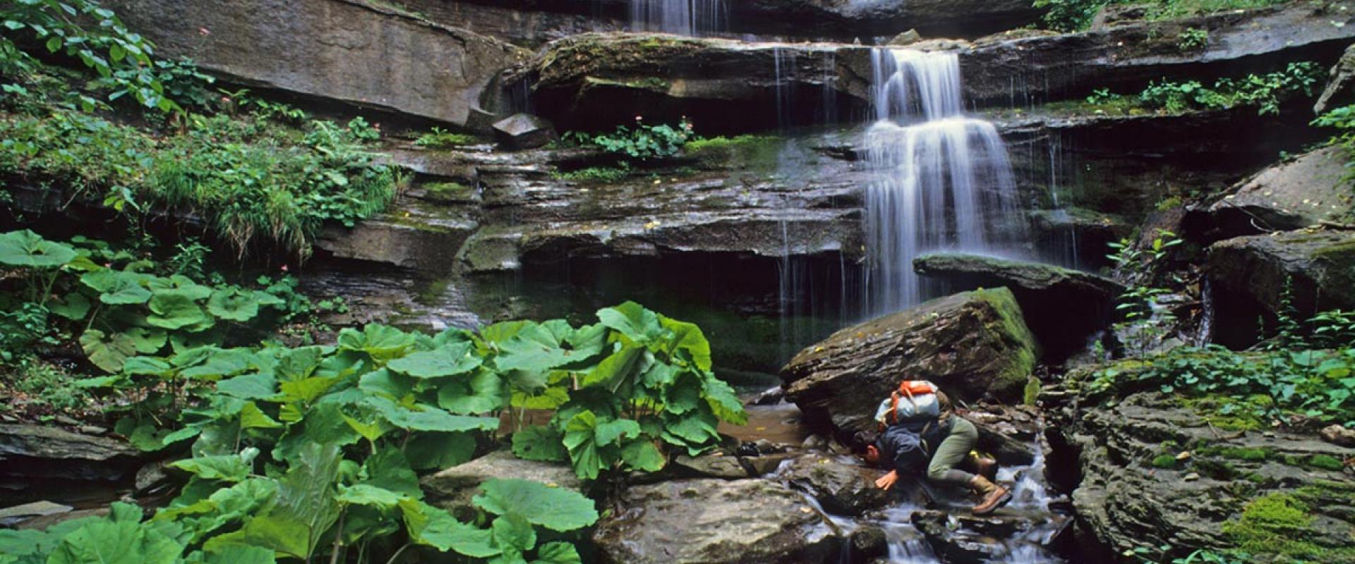 Scalandrini waterfall