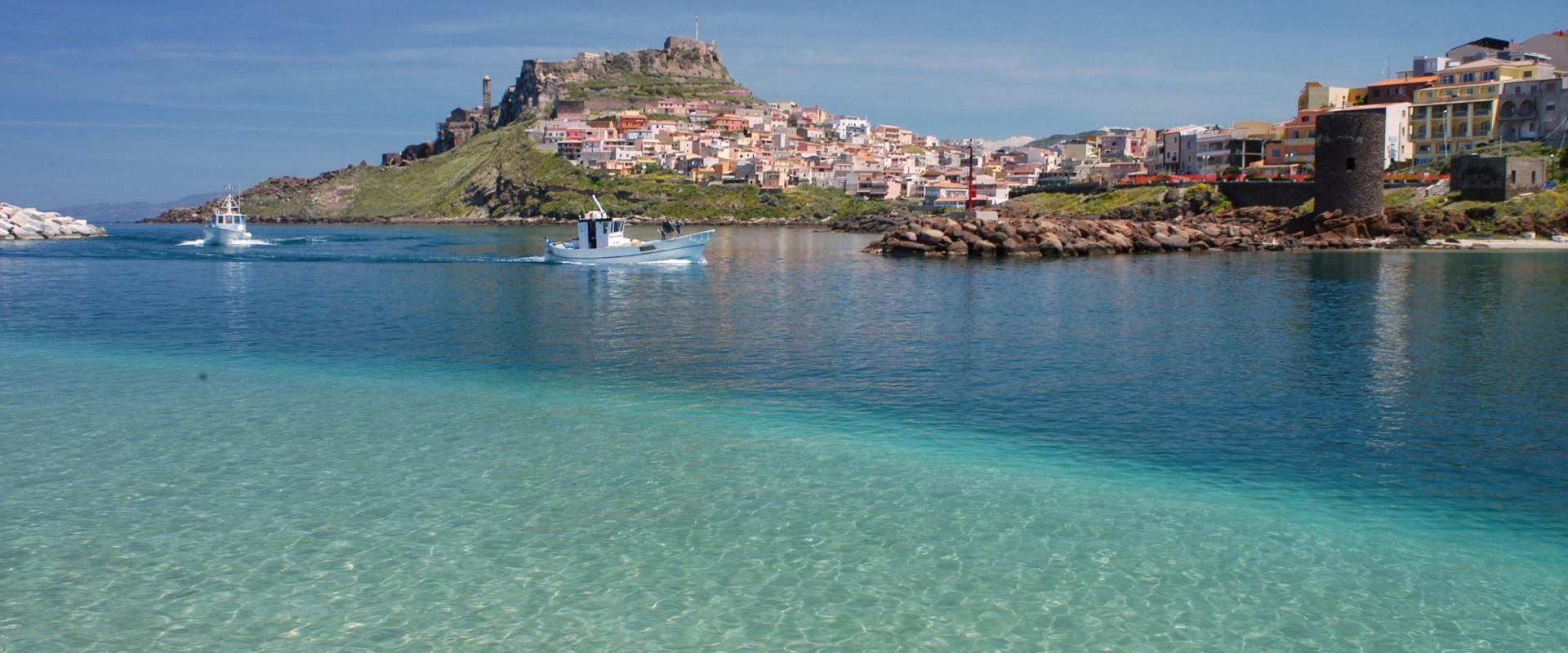 guided tour of castelsardo
