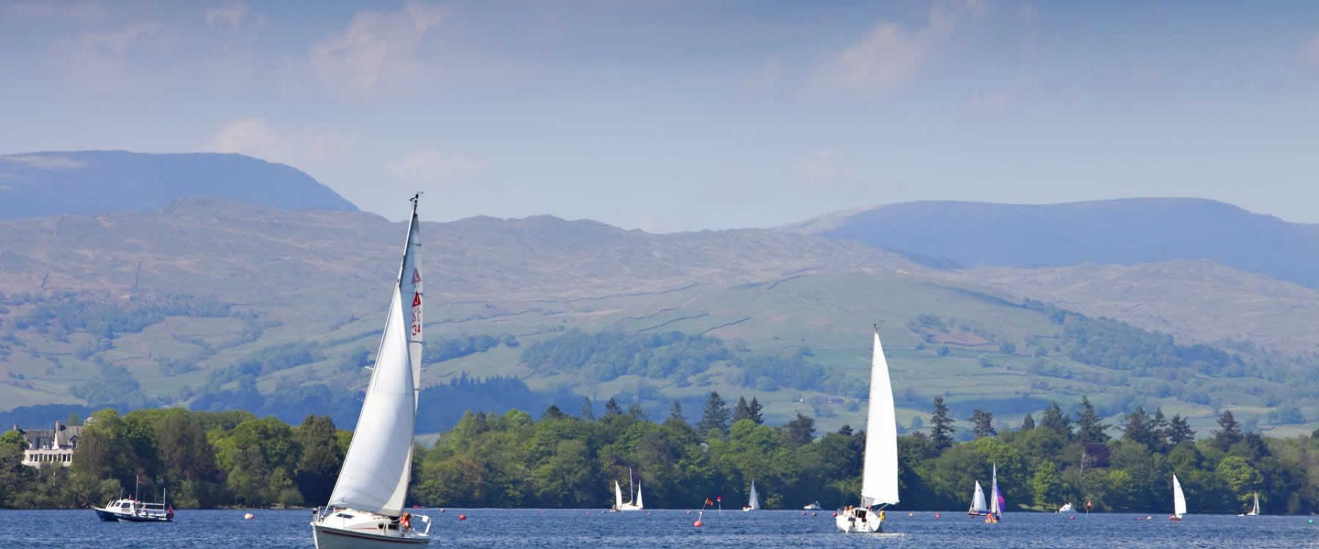 sailing lesson on trasimeno lake