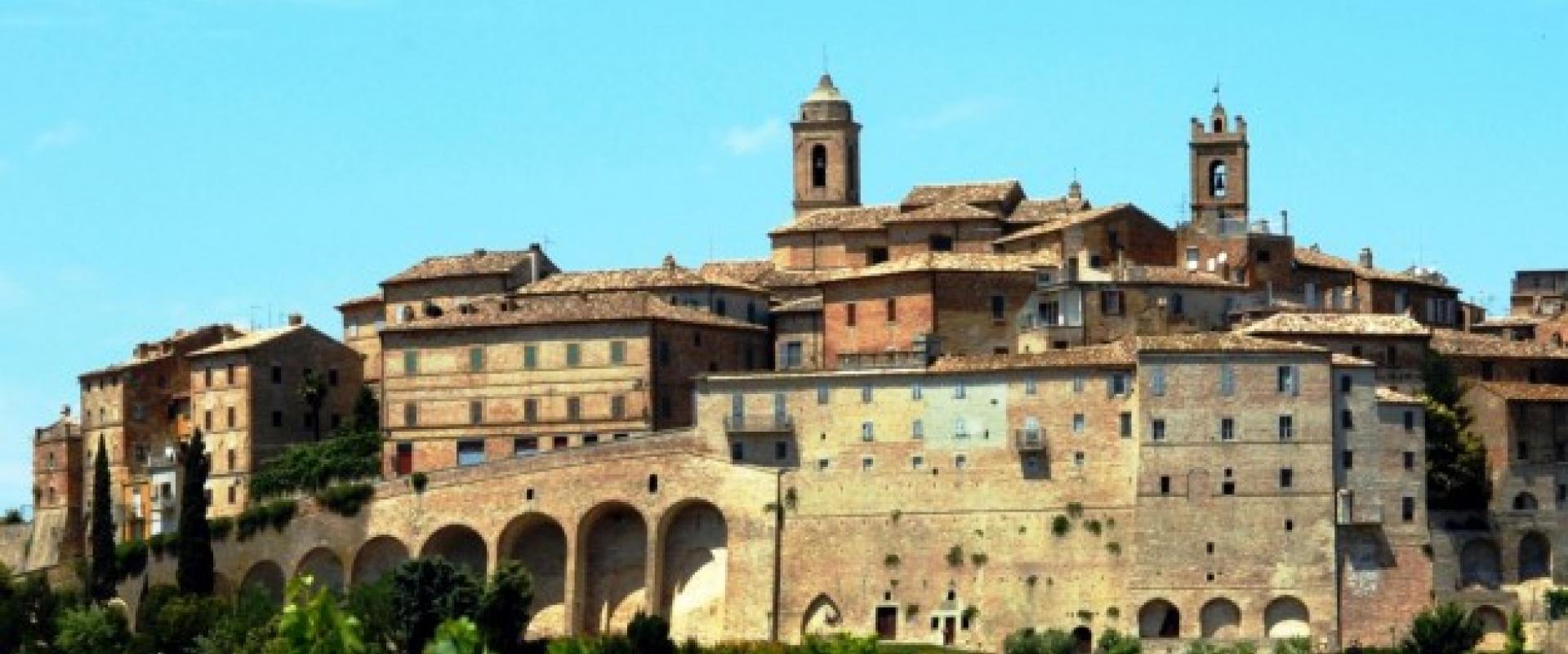 Visit of Montefiore dell' Aso Marche