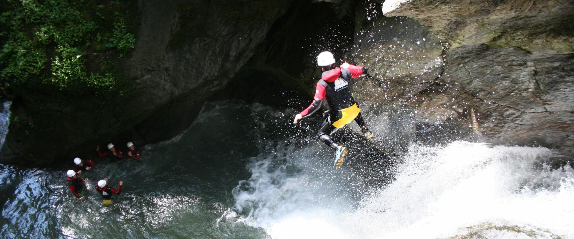 Canyoning into Lamarò Valley