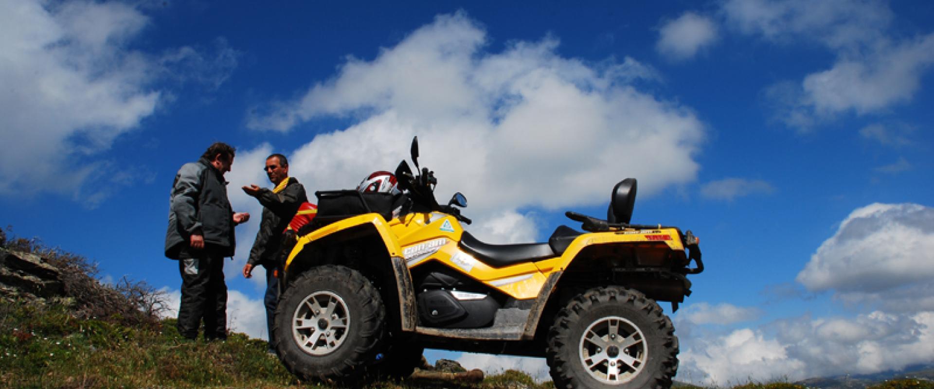 quad experience in Sardinia