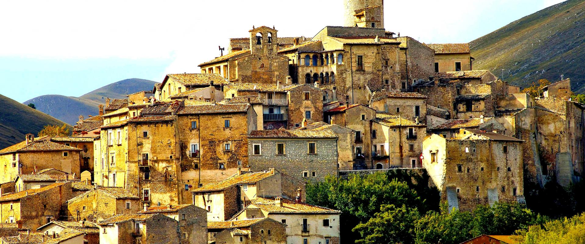 Visit of Santo Stefano di Sessanio Abruzzo