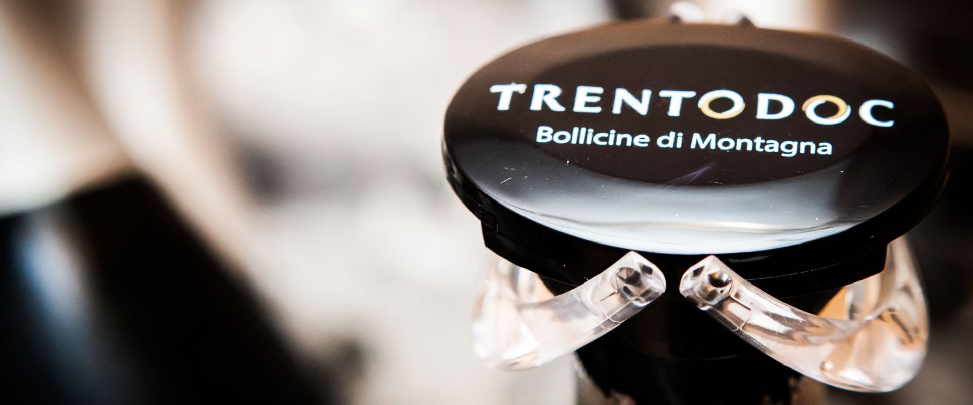 Tasting of trento DOC