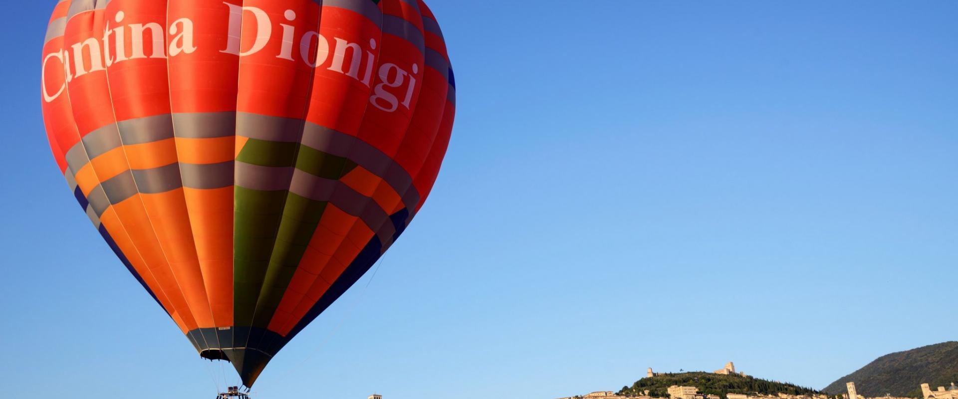 Balloon excursion of Umbria