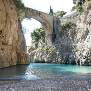 Furore, ponte sul fiordo