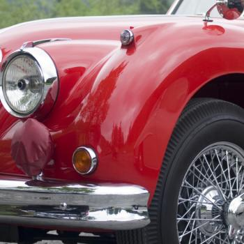 Tasting tour in vintage car