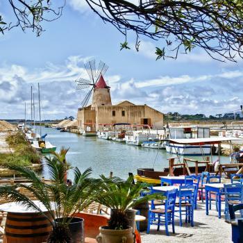 Wonderful and impressive land of Sicily