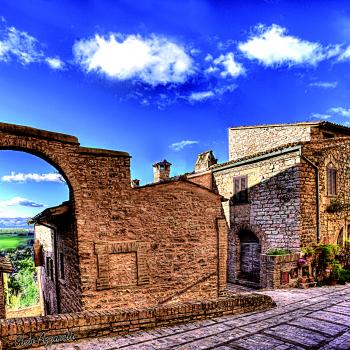 Visit of Spello