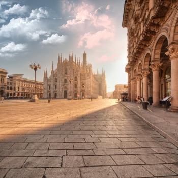 Visit of Milan