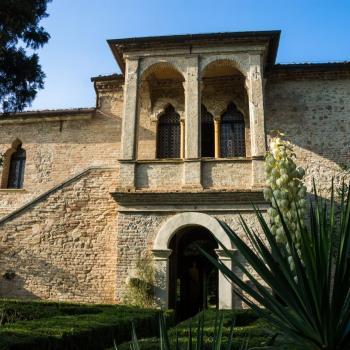 Facciata Museo Casa del Petrarca