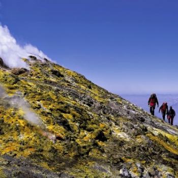 Escursion on Mount Etna