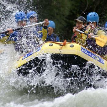 rafting on the river Vara