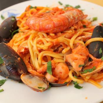 spaghetti di amalfi