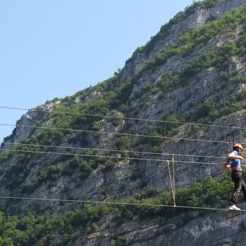 Suspended walking in Trentino
