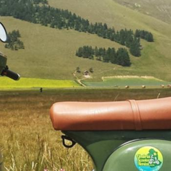 Vespa tour of umbria